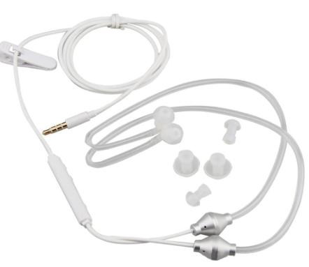 אוזניות אוויר להגנה מירבית מפני קרינה