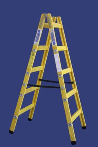 סולם עץ תקני - תו תקן 2X7 שלבים חגית