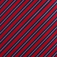 עניבה פסים דקים אדום