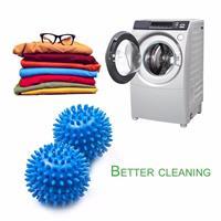 כדור לגיהוץ ויישור הבגדים בתוך מכונת הכביסה - 2 כדורים בחבילה