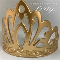 Orly Tiara Chocolate And Fondant Mold | Tiara Birthday Royal Crown Princess Queen Mold