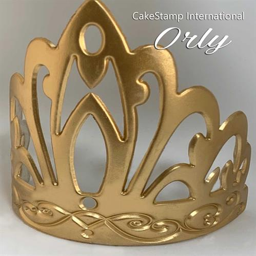 Orly Tiara Chocolate And Fondant Mold | Tiara Birthday Royal Crown Princess Queen Mold
