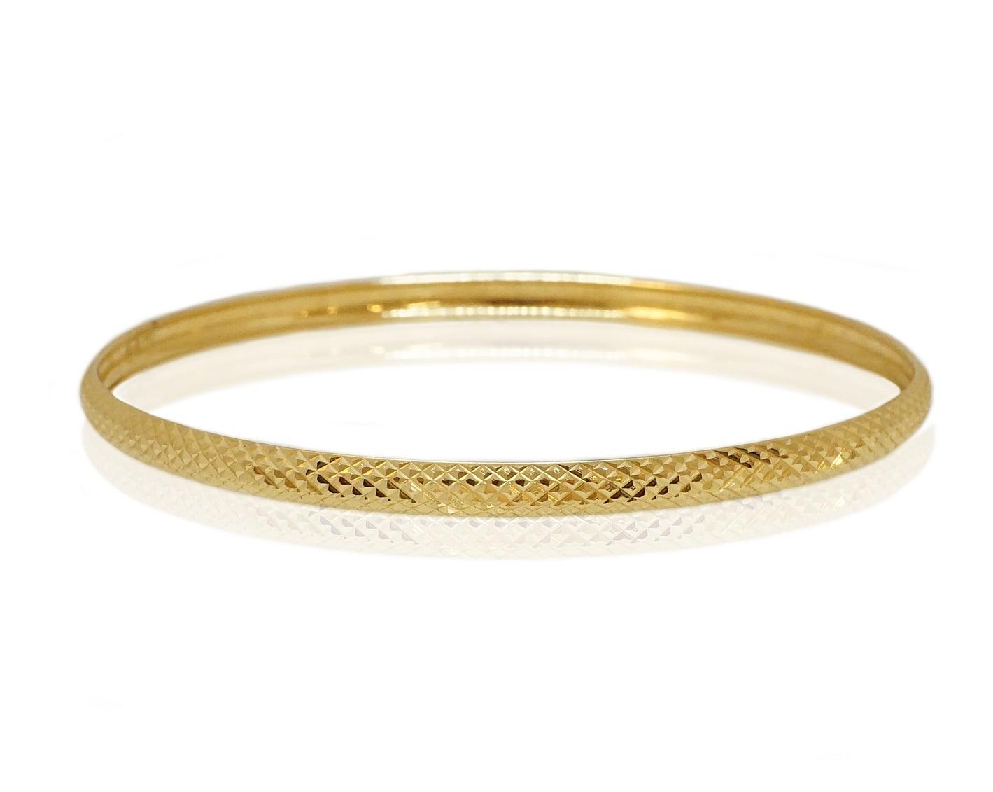 צמיד מרוקאי לאישה צמיד זהב עם חריטת לייזר