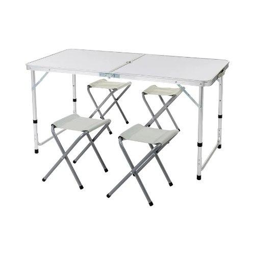 סט שולחן וכסאות קמפינג דגם Aztec TAVOLO