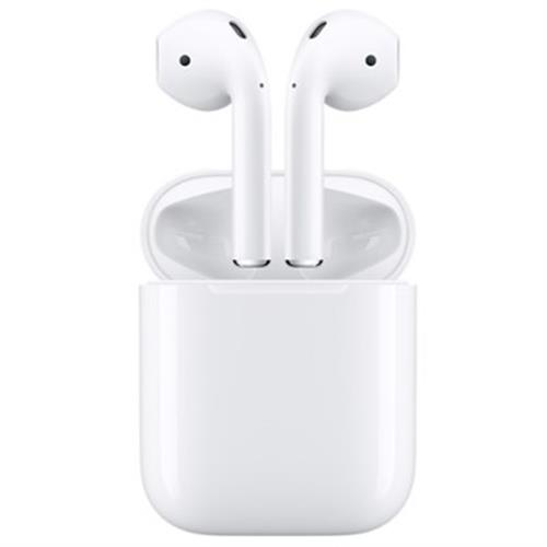 אוזניות Apple AirPods 2 with Wireless Charging Case  אפל