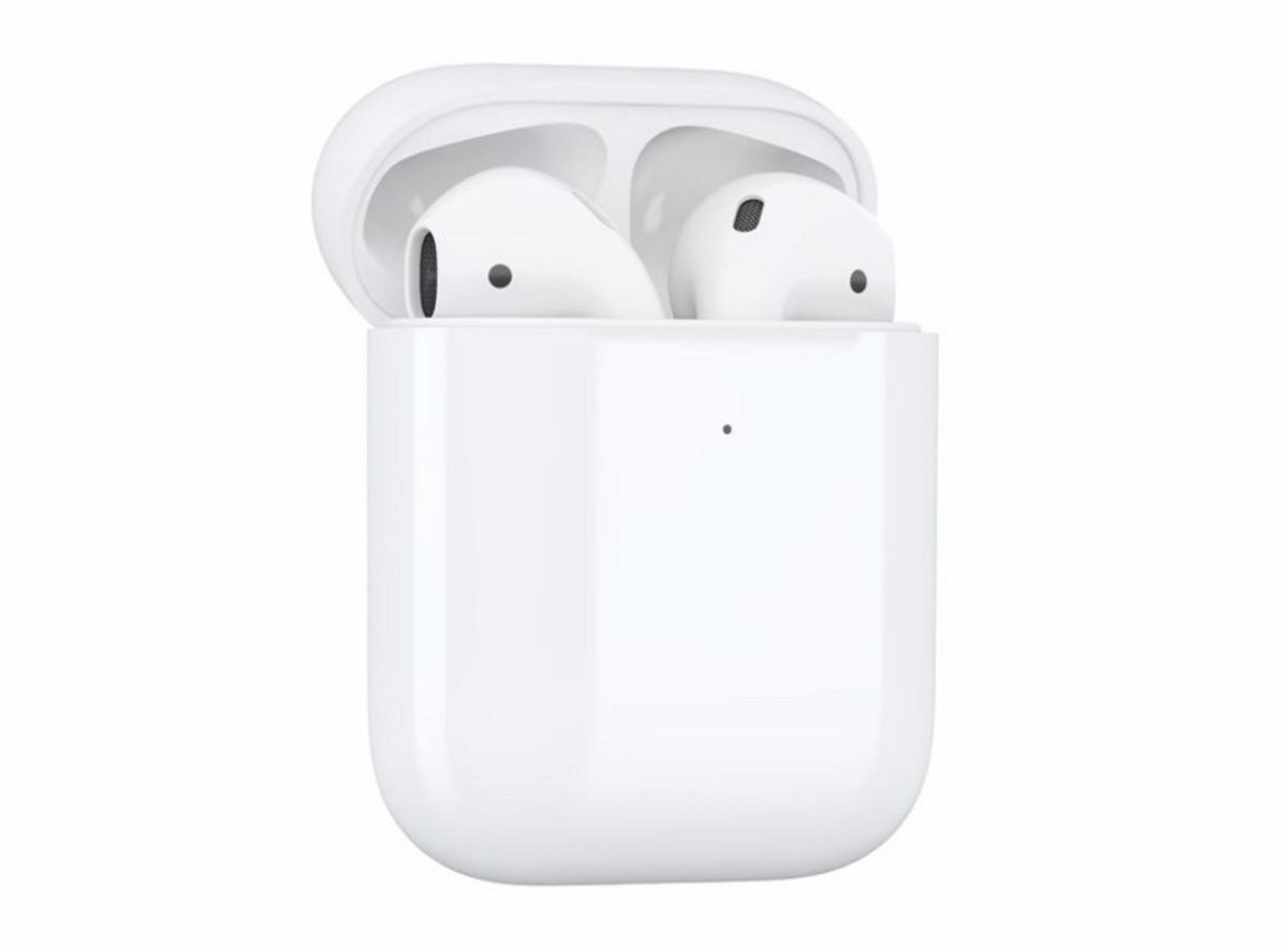 אוזניות Apple AirPods 2 with Wireless Charging Case True Wireless אפל
