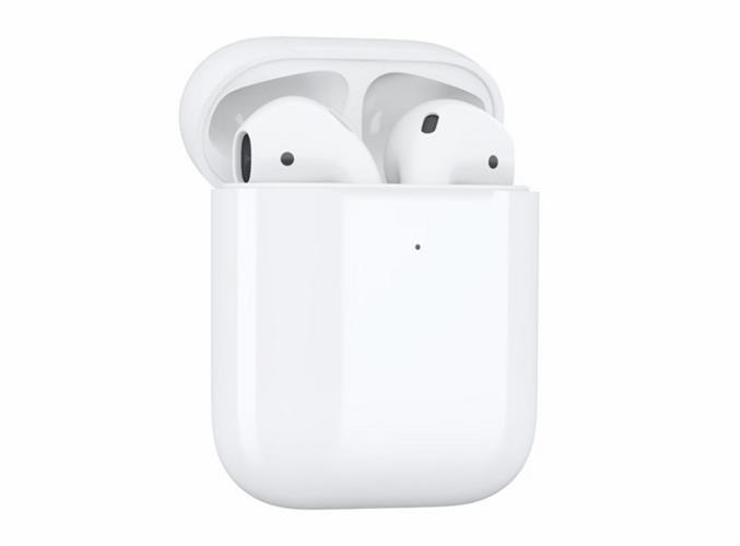 אוזניות Apple AirPods 2 with Wireless Charging Case True Wireless אפל