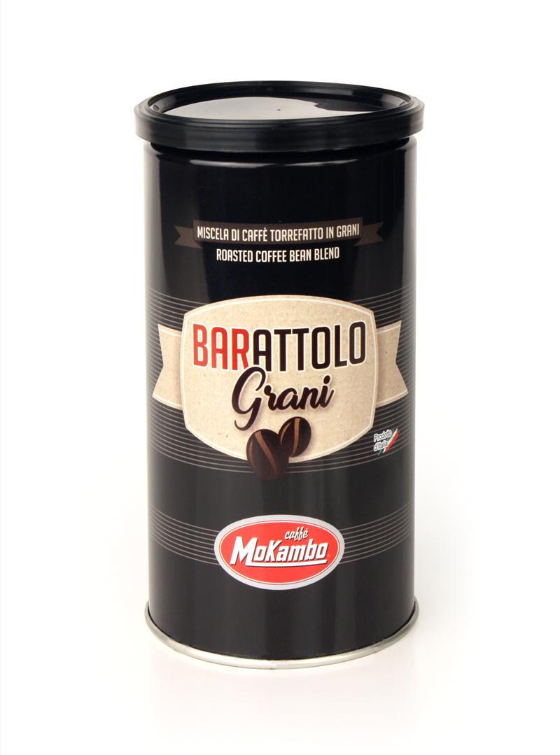 פולי קפה מוקמבו 250 גרם בפחית - Barattolo