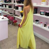 שמלת זוהרה צהובה
