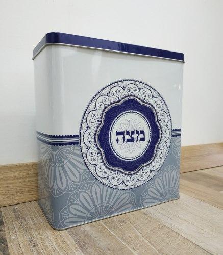 קופסא למצות - מנדלה כחול