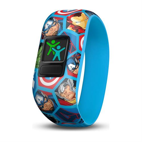 שעון דופק Garmin Vivofit Jr 2 Marvel Avengers