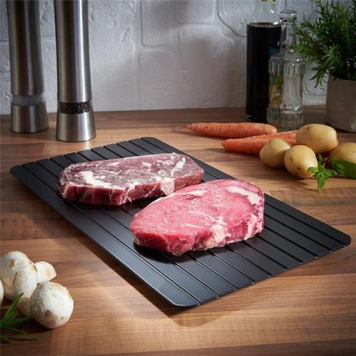 משטח הפלא להפשרת בשר בתוך דקות