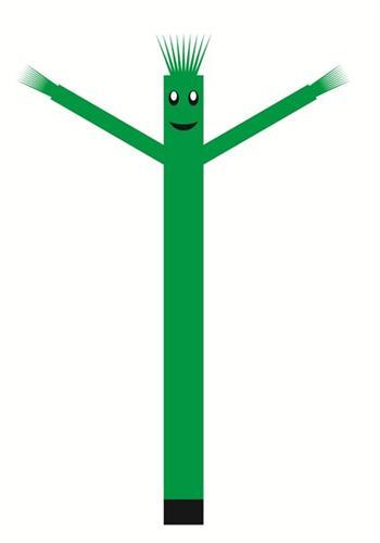 בובת דנסר רוקדת בגובה 6 מטר - צבע ירוק