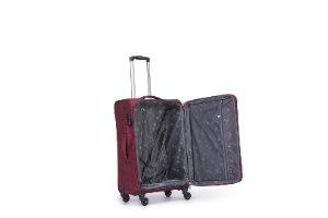 """מזוודה 28"""" עליה למטוס איכותיות SWISS  - אדום"""
