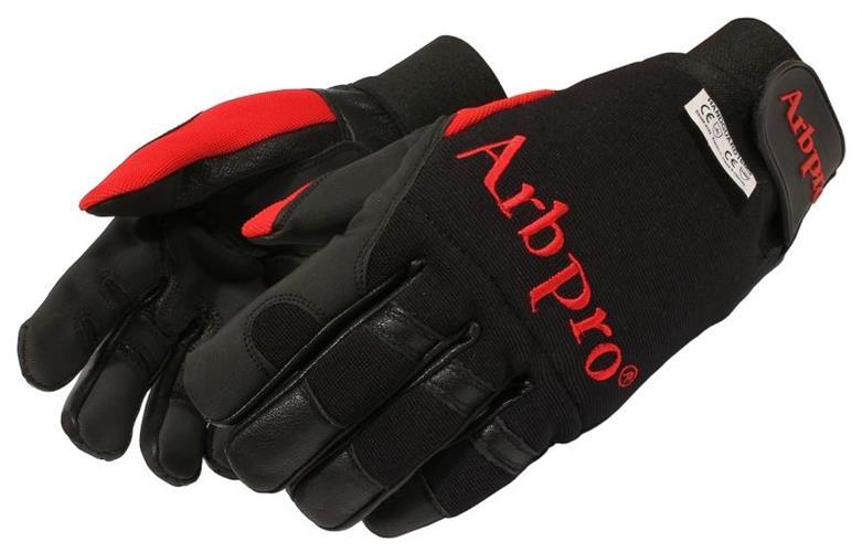 כפפות ARBPRO מוגנות חיתוך, צבע שחור מידה 9