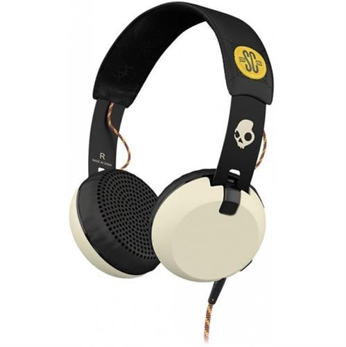 אוזניות קשת עם מיקרופון Skullcandy GRIND Black/Cream
