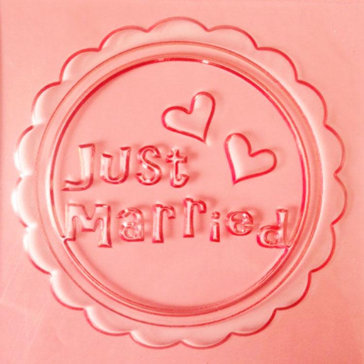 JUST MARRIED - תבליט חתונה