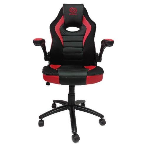 כיסא גיימינג דגם נובה - Nova - איכותי מעוצב ונוח עם משענת מתכווננת בצבעים שחור ואדום
