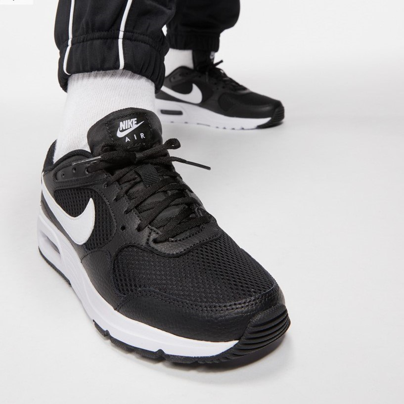 נעלי גברים NIKE AIR MAX SC חור/לבן