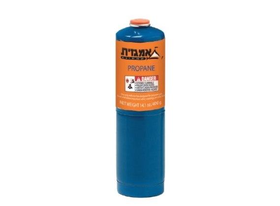 מיכל גז פרופן 400 גר' מקורי של אמגזית. איסוף מהחנות בלבד!