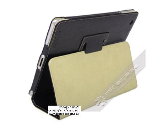 נרתיק לאייפד דמוי עור - Mircase - for Apple iPad2 and the New iPads
