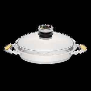 """מחבת גריל לבישול בריא בנפח 2.5 ליטר, קוטר 30 ס""""מ"""