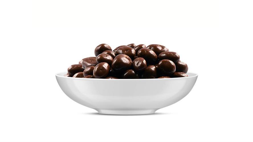 צימוקים בציפוי שוקולד מריר 100 גרם