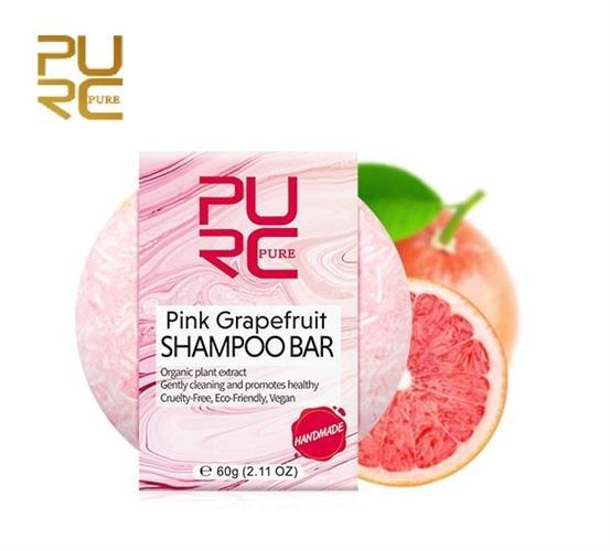 שמפו מוצק אורגני לשיקום השיער ולברק