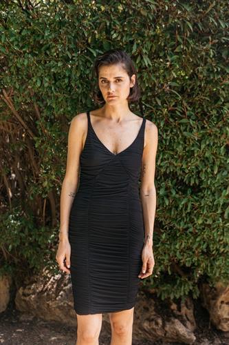 שמלת מוניק שחורה