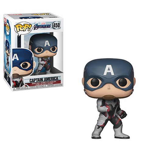 בובת פופ! אוונג'רז: אנדגיים - קפטן אמריקה חליפת צוות