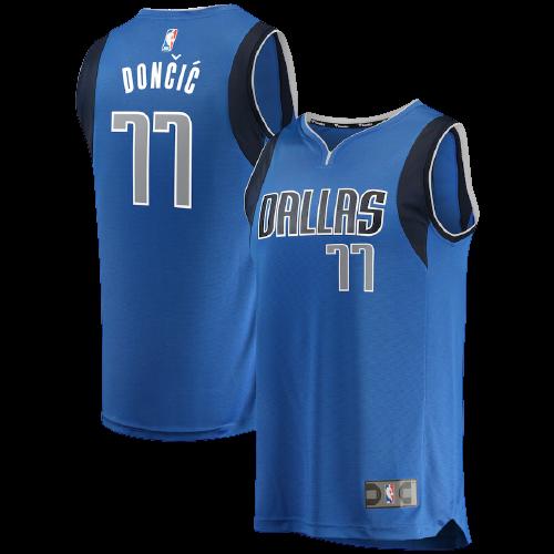 גופיית כדורסל ילדים דאלאס כחולה