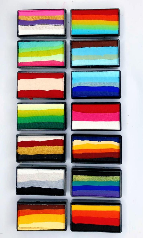 קשתות צבעים מפוצלים מוגדלים (מחיר לכל יחידה)  cameleon color block