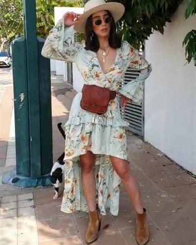 שמלת אדריאנה - ירקרקה