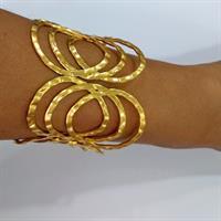 צמיד טרופיקנה - זהב