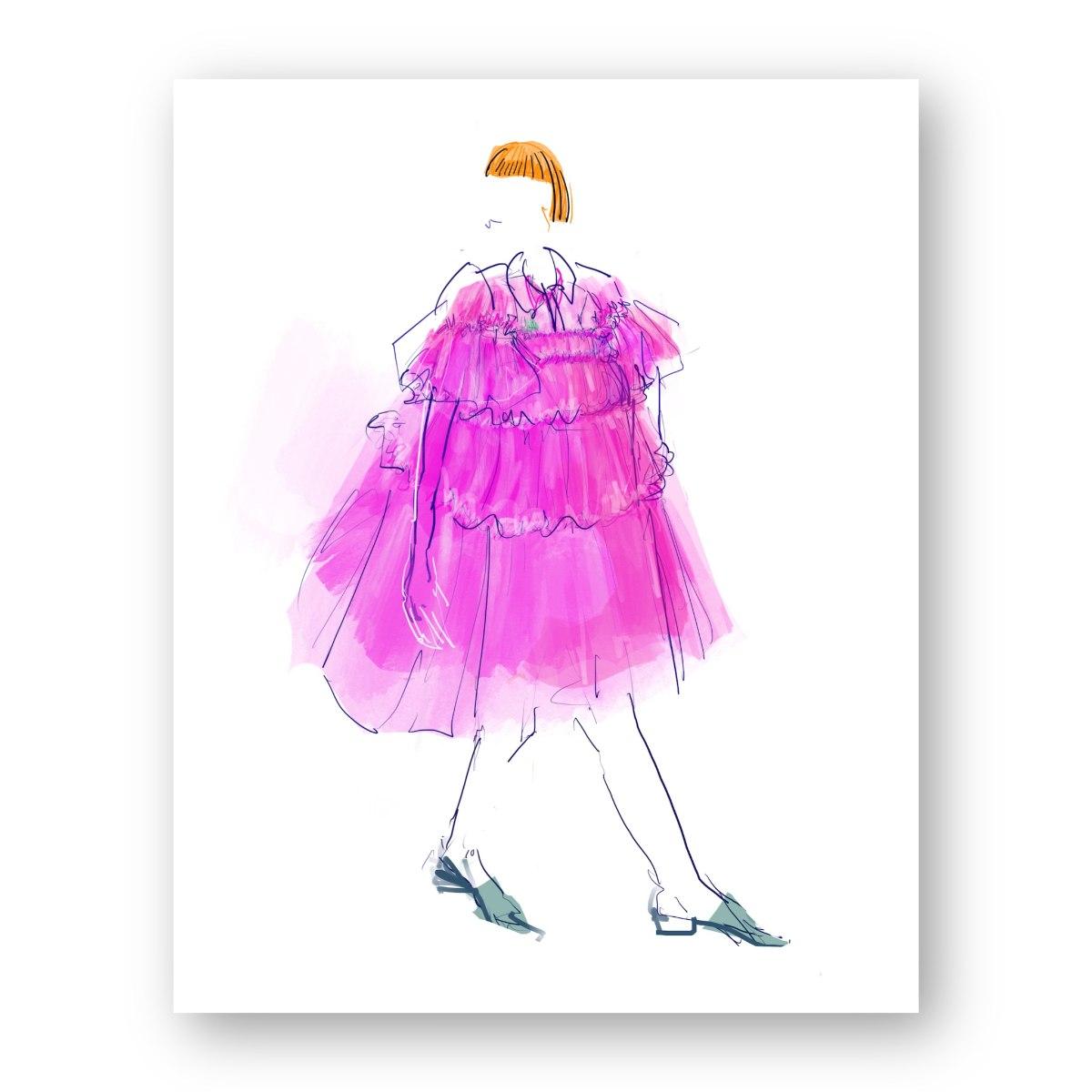 איור אופנה #32