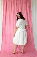 שמלת היילי לבנה
