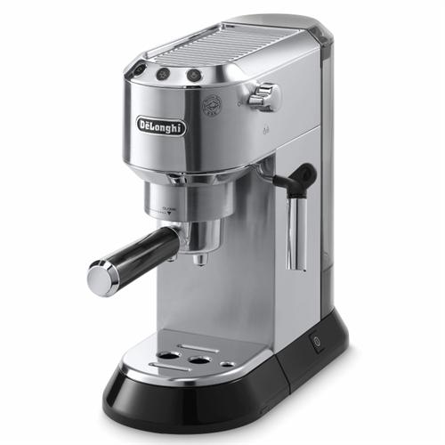 מכונת אספרסו ידנית מקצועית – פודים וקפה טחון DeLonghi Coffee דגם: DEDICA EC680.m