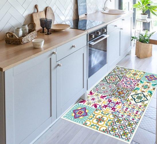 שטיח פי.וי.סי סגול עמוק TIVA DESIGN קיים בגדלים שונים