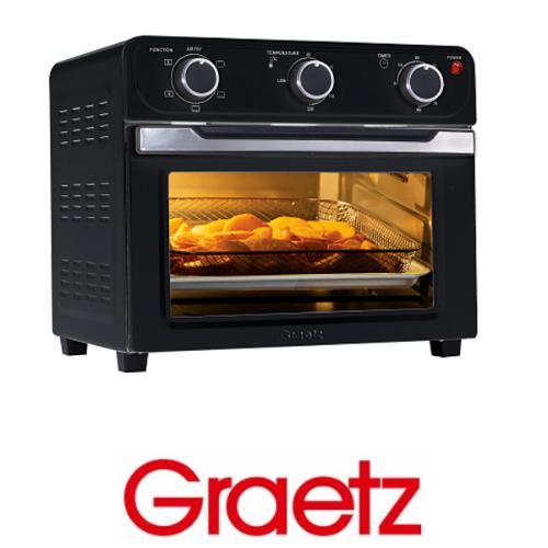 Graetz טוסטר אובן וטיגון ללא שמן דגם OT2266