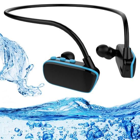 אוזניות נגן MP3 לשחייה במים