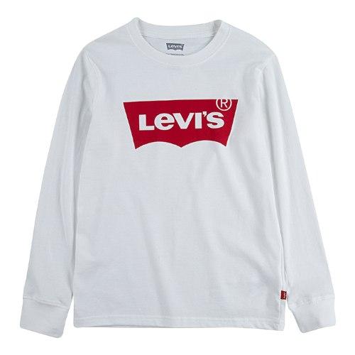 חולצת בייסיק לבנה LEVIS - שרוולים ארוכים