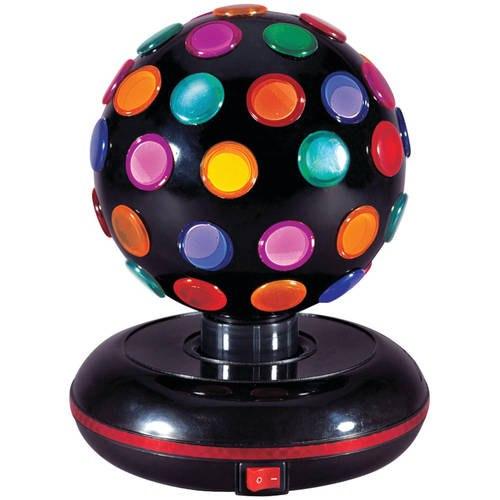 כדור דיסקו צבעוני מסתובב
