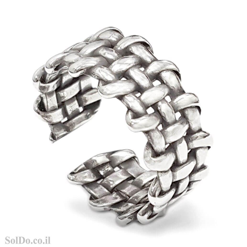 טבעת מכסף מעוצבת  RG6334 | תכשיטי כסף 925 | טבעות כסף