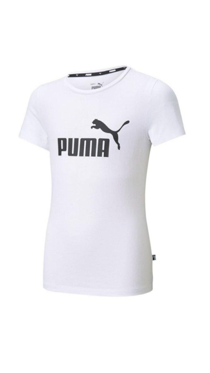חולצת T לבנה בנות PUMA