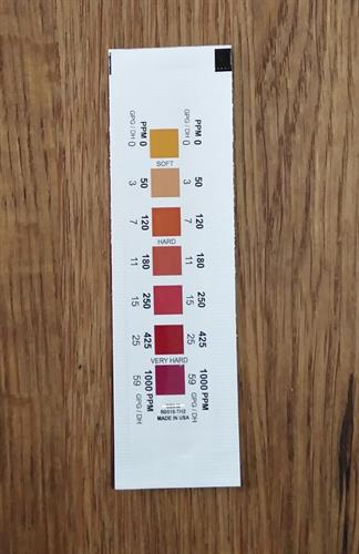 סטיק לבדיקת קשיות מים