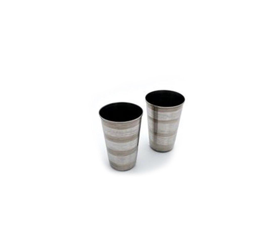 כוסות נירוסטה 200 מל (שש כוסות)