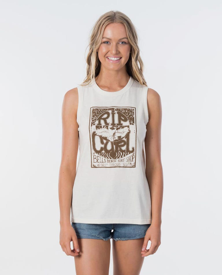 RIP CURL RC SURF SHOP MUSCLE TANK