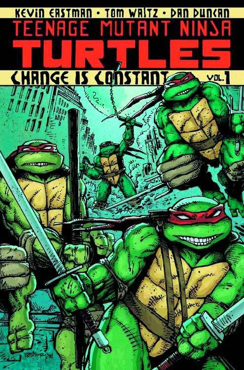 TMNT - Teenage Mutant Ninja Turtles Vol. 1