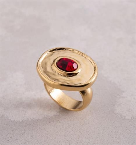טבעת DANON - אלקטרה אדום