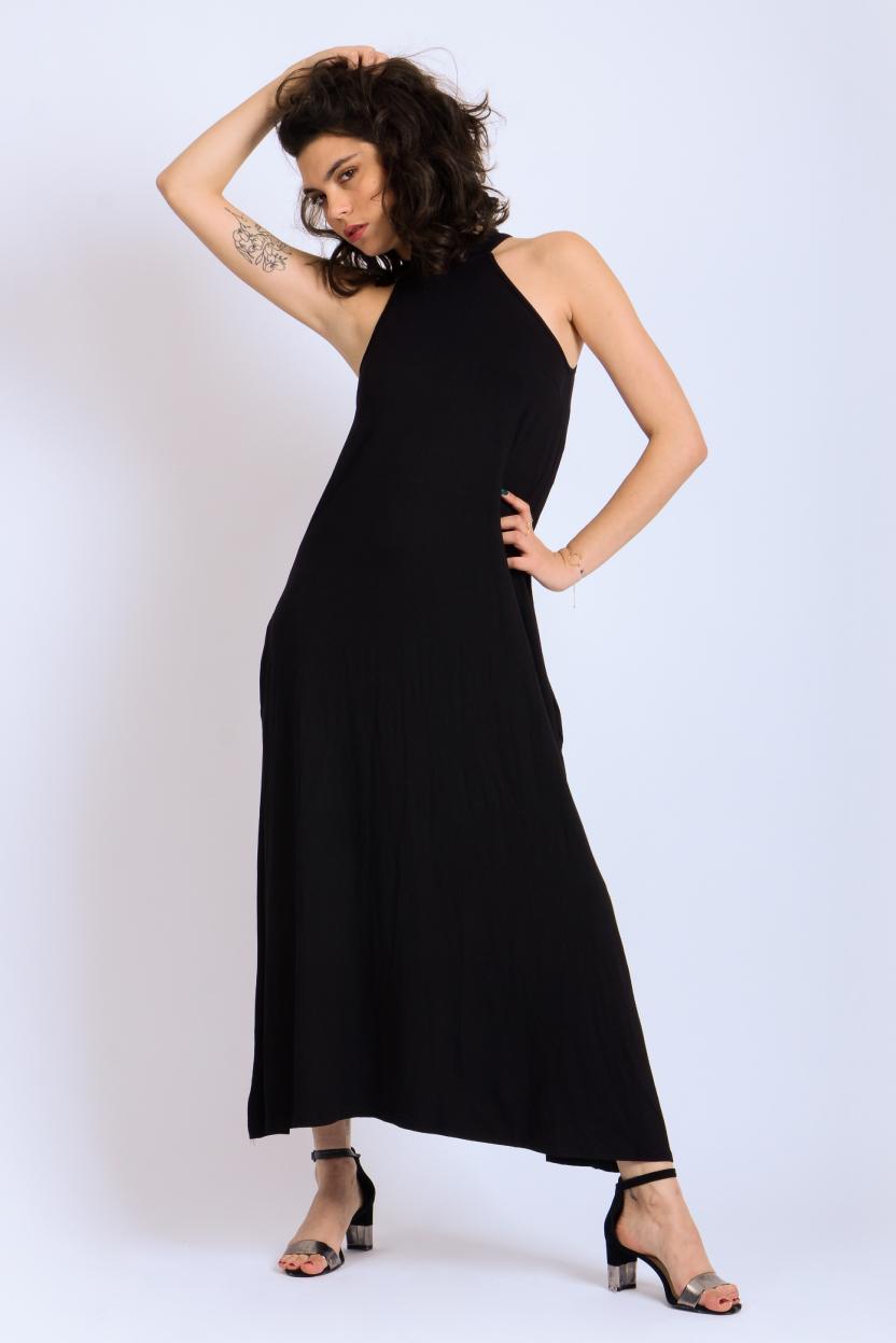 שמלת קולר מקסי